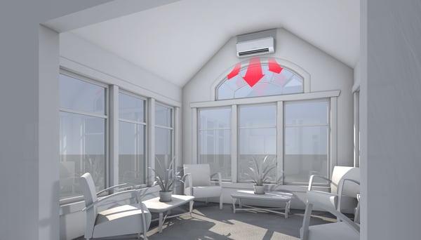 Sunroom - Heating_The Geiler Company