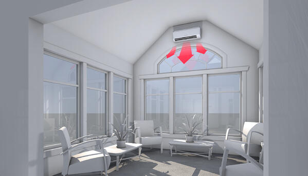 Sunroom - Heating_The Geiler Company