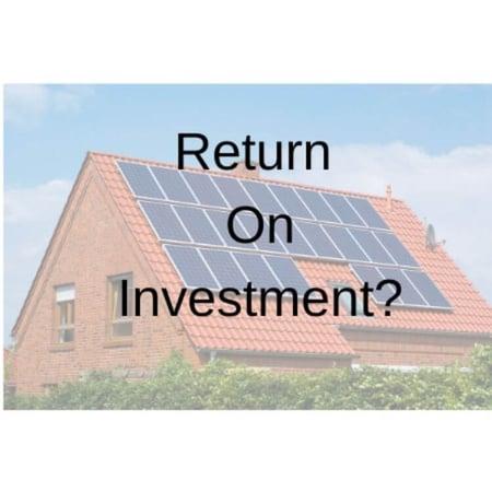 Return On Investment_solar panel_the geiler company