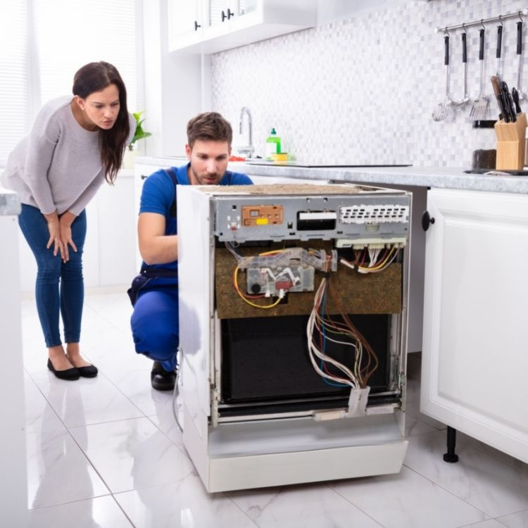 Why does my dishwasher make a hissing sound when it is off_ noises from a dishwasher_The Geiler Company