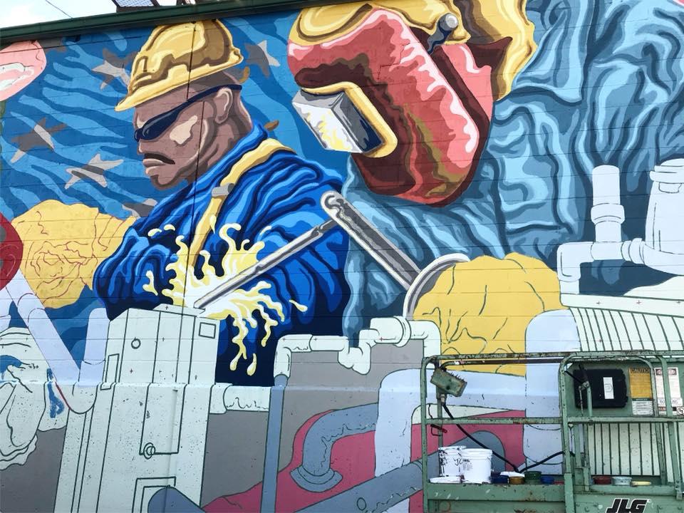 the geiler company mural